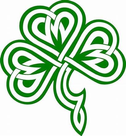 Shamrock Celtic Knot Clipart Clip