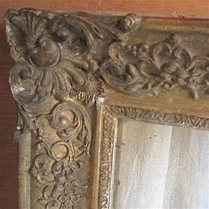 Miroir Doré Ancien : miroir ancien bois et platre dor broc23 ~ Teatrodelosmanantiales.com Idées de Décoration