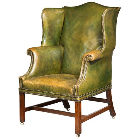 wingback chairs chippendale period wing chair at 1stdibs
