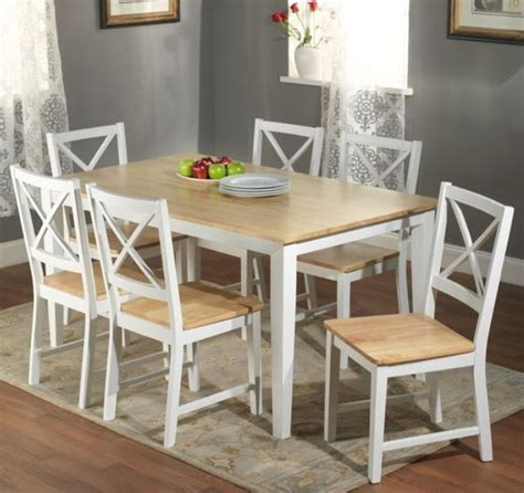 white kitchen furniture sets 7 pc white dining set kitchen room table chairs bench wood