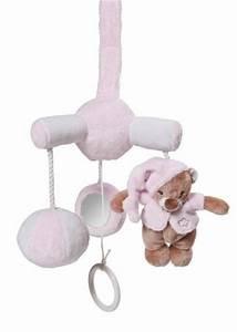 Mobile Musical Rose : nattou mini mobile musical rose bibou doudouplanet ~ Teatrodelosmanantiales.com Idées de Décoration