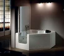 Handicap Tub Shower Combo by Hs B013a Walk In Tub Shower Combo Corner Tub Shower Combo Bath Tubs And Showe