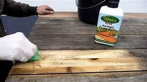 Betonpflastersteine Mit Soda Reinigen : mellerud hartholz entgrauer youtube ~ Frokenaadalensverden.com Haus und Dekorationen