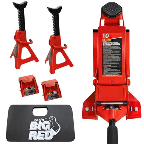 floor jack combo 3 ton with jack stands agri supply 55377
