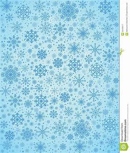 Vector Frosty Snowflakes Background Stock Vector - Image ...