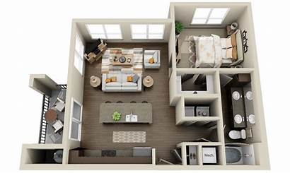 Floor 3d Modern Plans Apartments Houses Models