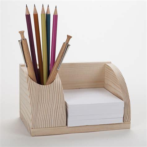 organisateur de bureau petit organisateur de bureau en bois porte cartes et