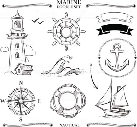 Boat Anchor Knot by Rope Frames Boats Marine Knots Anchors Nautical Vector