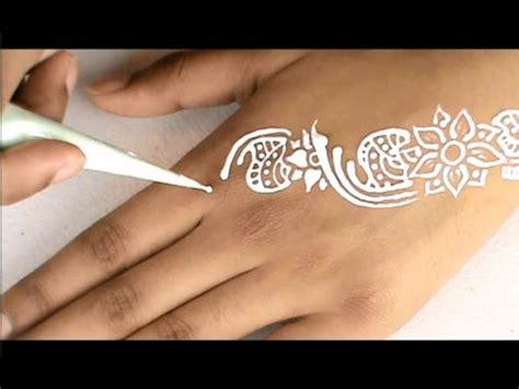 black white fresh henna temporary tattoo weddingparty