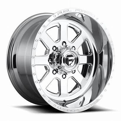 Wheels Fuel Lug Dually Super Single Polished