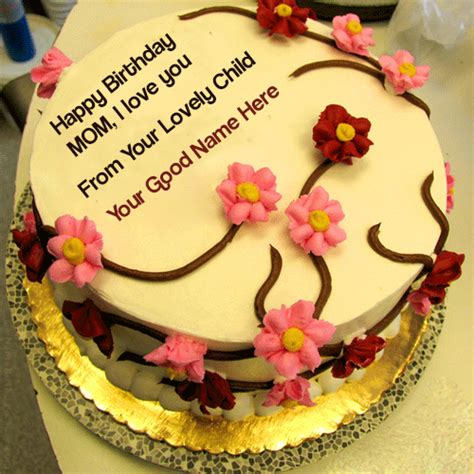 mother birthday cake  pictures write   image