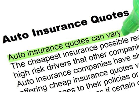 Insurance Quotes by Auto Insurance Quotes Highlighted Words And Phrases