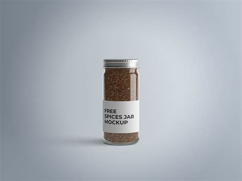 2,000+ vectors, stock photos & psd files. Free Spices Jar Mockup | Spices packaging, Spice jars, Jar