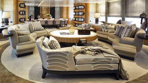 modern lounge furniture chaise and sofas with large