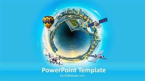 idea city powerpoint template slidesbase