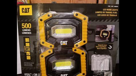 costco work light cat led work lights 500 lumens costco deal
