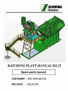 Spare Parts Manual M2 25