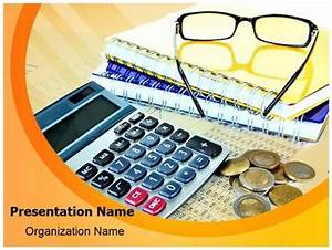 Accounting Finance PowerPoint Template Background ...