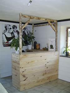 Bar En Bois : bar en bois cr ation de meubles et d 39 objets d co ~ Teatrodelosmanantiales.com Idées de Décoration