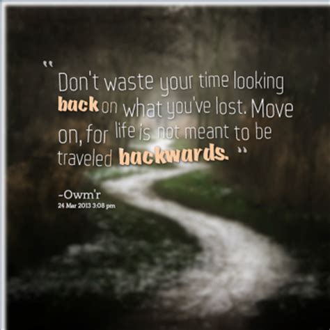 Quotes About Running And Not Looking Back