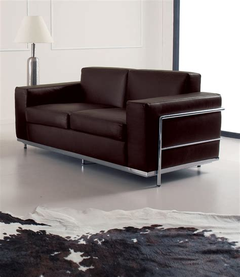 metal frame sectional sofa cook 2 seater modern leather sofa shop online italy