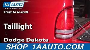 How To Replace Tail Lights 97-04 Dodge Dakota