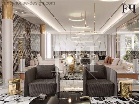 modern villa interior design  dubai uae  fancy house