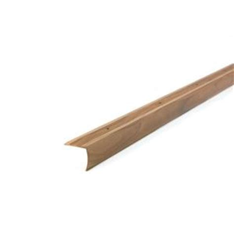 stair edging home depot m d building products metaldecor 1 125 in x 36 in aluminum cherry stair edging 32012 the