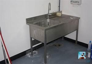 Evier En Gres Blanc 1 Bac : meuble evier occasion ~ Premium-room.com Idées de Décoration