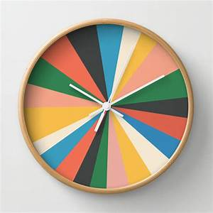 8, Creative, Wall, Clock, Designs, From, Society6