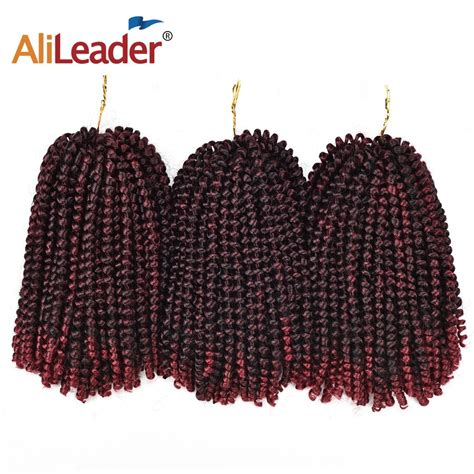 Alileader Spring Twist Crochet Hair Extensions Crochet