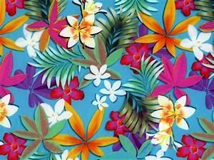 Tissu Imprimé Tropical : tissu maille maillot de bain imprim tropical pas cher sur mercerie ~ Teatrodelosmanantiales.com Idées de Décoration