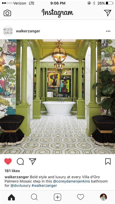 FLOOR GOALS Green bathroom Traditional home magazine