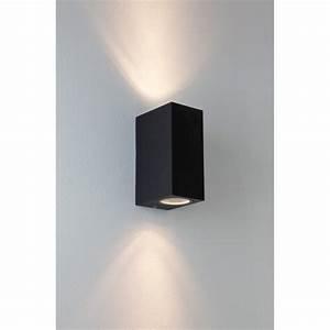 Appliques Murales Noires : applique murale chios 150 noire astro lighting ~ Edinachiropracticcenter.com Idées de Décoration