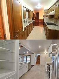 kitchen remodel before and after Kitchen Remodel Before and After Pictures - Galley Kitchen Remodel