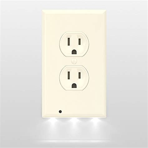 outlet plate night light outlet cover night light moar stuff you don 39 t need it