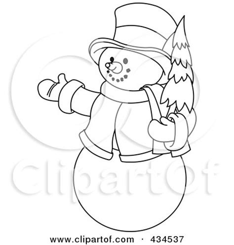 christmas picture outline royalty free rf clipart illustration of a digital collage of outlines of two snowmen with a
