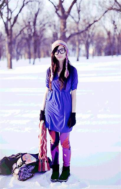 Outfit November Kinesis Ani Fox Snow Pupuren