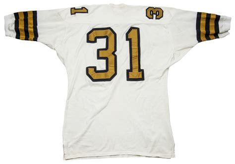 1967 Jim Taylor Game Used New Orleans Saints
