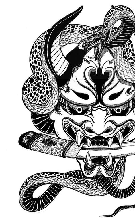 Pin od používateľa Morwen Blue na nástenke Tattoo | Mask tattoo, Oni mask a Oni tattoo