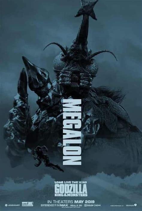 megalon fan art poster godzilla kaiju monsters