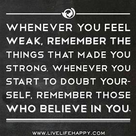 Image result for Strength and Recovery Quotes