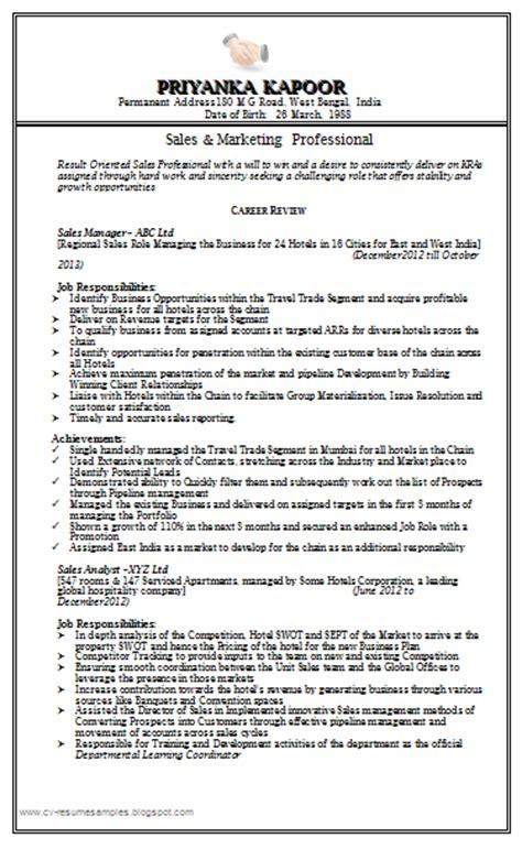 free sales marketing resume http www