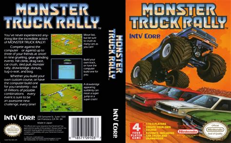 monster truck rally videos monster truck rally nes retro game age