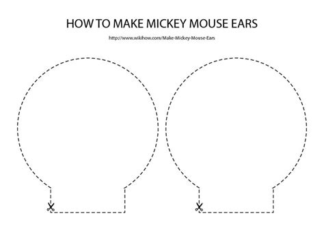 mickey mouse ears template party