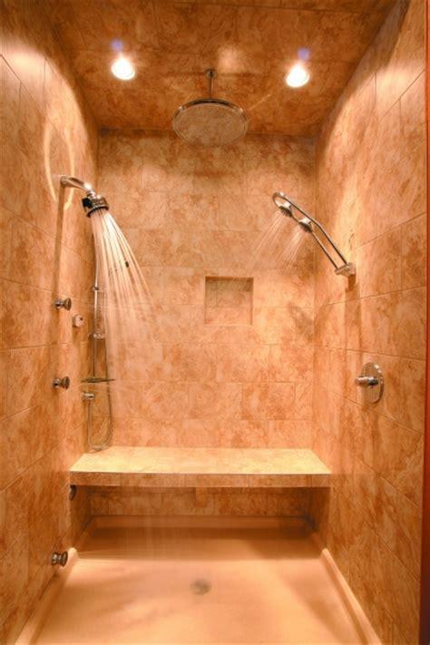 chic   shower ideas  custom showers