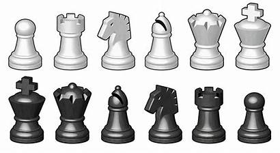 Chess Pieces Board Artwork Behance Creative Project