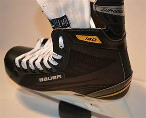 Youth Hockey Skate Size Chart Bauer Supreme 140 Ice Hockey Skates Youth Sizes Ebay
