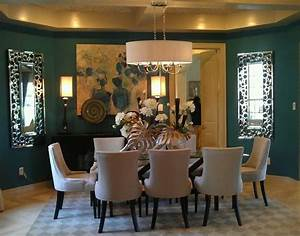 Deep teal dining room walls design inspirations pinterest for Teal dining rooms