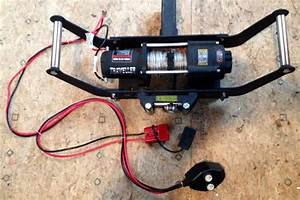 Winch To Pull Logs  Size